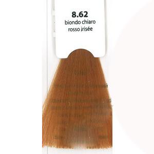 KAARAL 8.62 краска для волос / Sense COLOURS 100млКраски<br>8.62 светлый блондин красно-фиолетовый Перманентные красители. Классический перманентный краситель бизнес класса. Обладает высокой покрывающей способностью. Содержит алоэ вера, оказывающее мощное увлажняющее действие, кокосовое масло для дополнительной защиты волос и кожи головы от агрессивного воздействия химических агентов красителя и провитамин В5 для поддержания внутренней структуры волоса. При соблюдении правильной технологии окрашивания гарантировано 100% окрашивание седых волос. Палитра включает 93 классических оттенка. Способ применения: Приготовление: смешивается с окислителем OXI Plus 6, 10, 20, 30 или 40 Vol в пропорции 1:1 (60 г красителя + 60 г окислителя). Суперосветляющие оттенки смешиваются с окислителями OXI Plus 40 Vol в пропорции 1:2. Для тонирования волос краситель используется с окислителем OXI Plus 6Vol в различных пропорциях в зависимости от желаемого результата. Нанесение: провести тест на чувствительность. Для предотвращения окрашивания кожи при работе с темными оттенками перед нанесением красителя обработать краевую линию роста волос защитным кремом Вaco. ПЕРВИЧНОЕ ОКРАШИВАНИЕ Нанести краситель сначала по длине волос и на кончики, отступив 1-2 см от прикорневой части волос, затем нанести состав на прикорневую часть. ВТОРИЧНОЕ ОКРАШИВАНИЕ Нанести состав сначала на прикорневую часть волос. Затем для обновления цвета ранее окрашенных волос нанести безаммиачный краситель Easy Soft. Время выдержки: 35 минут. Корректоры Sense. Используются для коррекции цвета, усиления яркости оттенков, создания новых цветовых нюансов, а также для нейтрализации нежелательных оттенков по законам хроматического круга. Содержат аммиак и могут использоваться самостоятельно. Оттенки: T-AG - серебристо-серый, T-M - фиолетовый, T-B - синий, T-RO - красный, T-D - золотистый, 0.00 - нейтральный. Способ применения: для усиления или коррекции цвета волос от 2 до 6 уровней цвета корректоры добавляются в краситель по