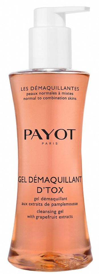 PAYOT Гель-детокс очищающий / LES DEMAQUILLANTES 400 мл it s skin успокаивающийочищающийгель