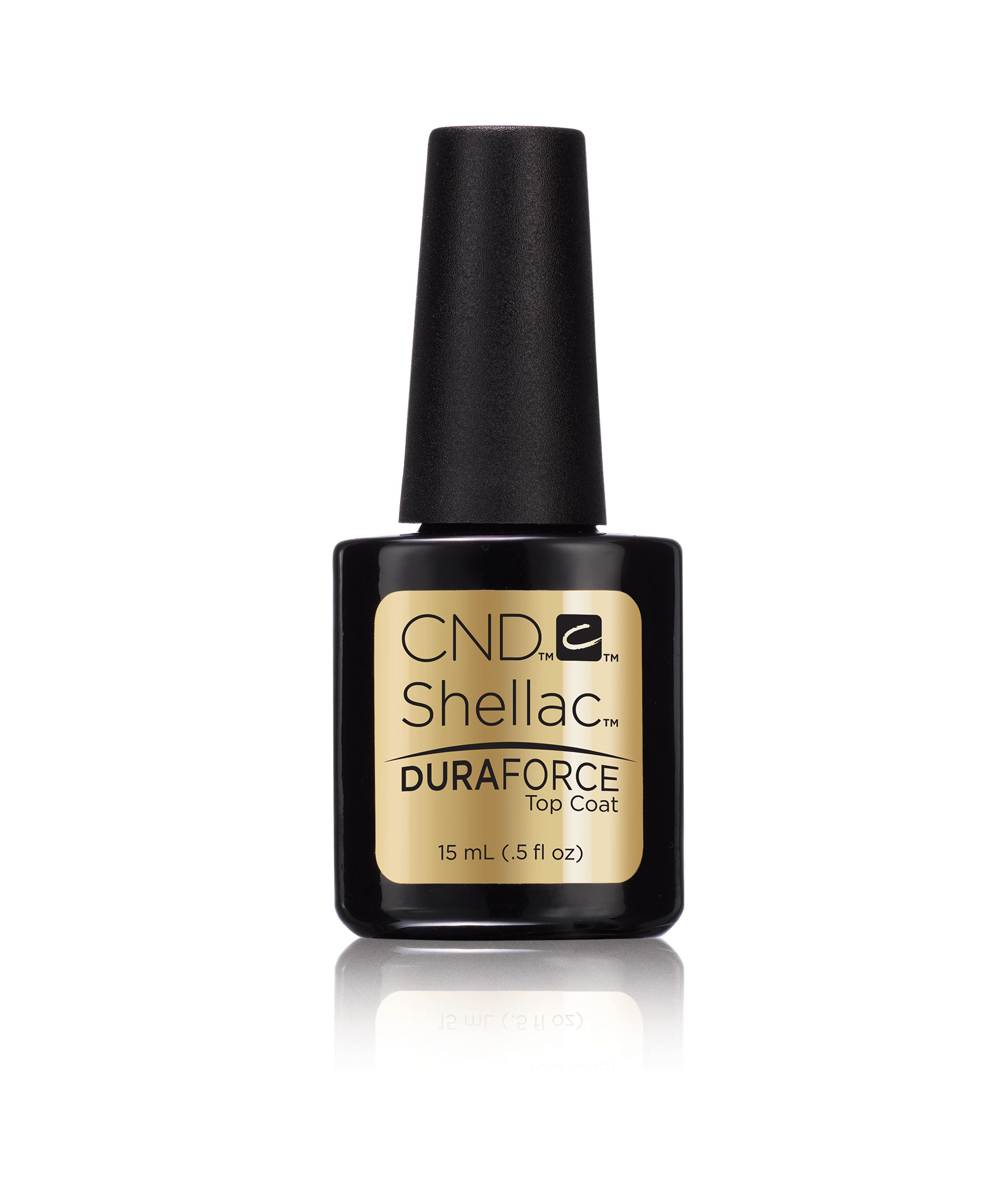"CND Покрытие верхнее / ""CND Shellac Duraforce Top Coat"" 15 мл"