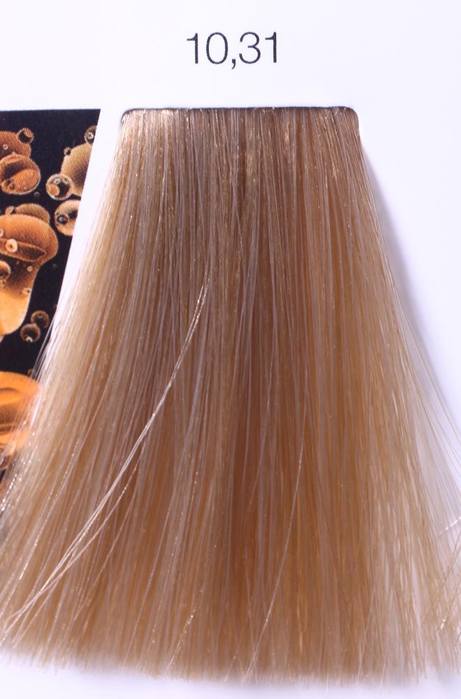 LOREAL PROFESSIONNEL 10.31 краска для волос / ИНОА ODS2 60грКраски<br>INOA - первый краситель, позволяющий достичь желаемых результатов окрашивания, окрашивать тон в тон, осветлять волосы на 3 тона, идеально закрашивает седину и при этом не повреждает структуру волос, поскольку не содержит аммиака. Получить стойкие, насыщенные цвета позволяет инновационная технология Oil Delivery System (ODS) система доставки красителя при помощи масла. Благодаря удивительному действию системы ODS при нанесении, смесь, обволакивая волос, как льющееся масло, проникает внутрь ткани волос, чтобы создать безупречный цвет. Уникальность системы ODS состоит также в ее умении обогащать структуру волоса активными защитными элементами, который предотвращает повреждения и потерю цвета.  После использования красителя окислением без аммиака Inoa 4.20 от LOreal Professionnel волосы приобретают однородный насыщенный цвет, выглядят идеально гладкими, блестящими и шелковистыми, как будто Вы сделали окрашивание и ламинирование за одну процедуру.  Способ применения: Приготовьте смесь из красителя Inoa ODS 2 и Оксидента Inoa ODS 2 в пропорции 1:1. Нанесите смесь на сухие или влажные волосы от корней к кончикам. Не добавляйте воду в смесь! Подержите краску на волосах 30 минут. Затем тщательно промойте волосы до получения чистой, неокрашенной воды.<br><br>Цвет: Корректоры и другие<br>Типы волос: Для всех типов