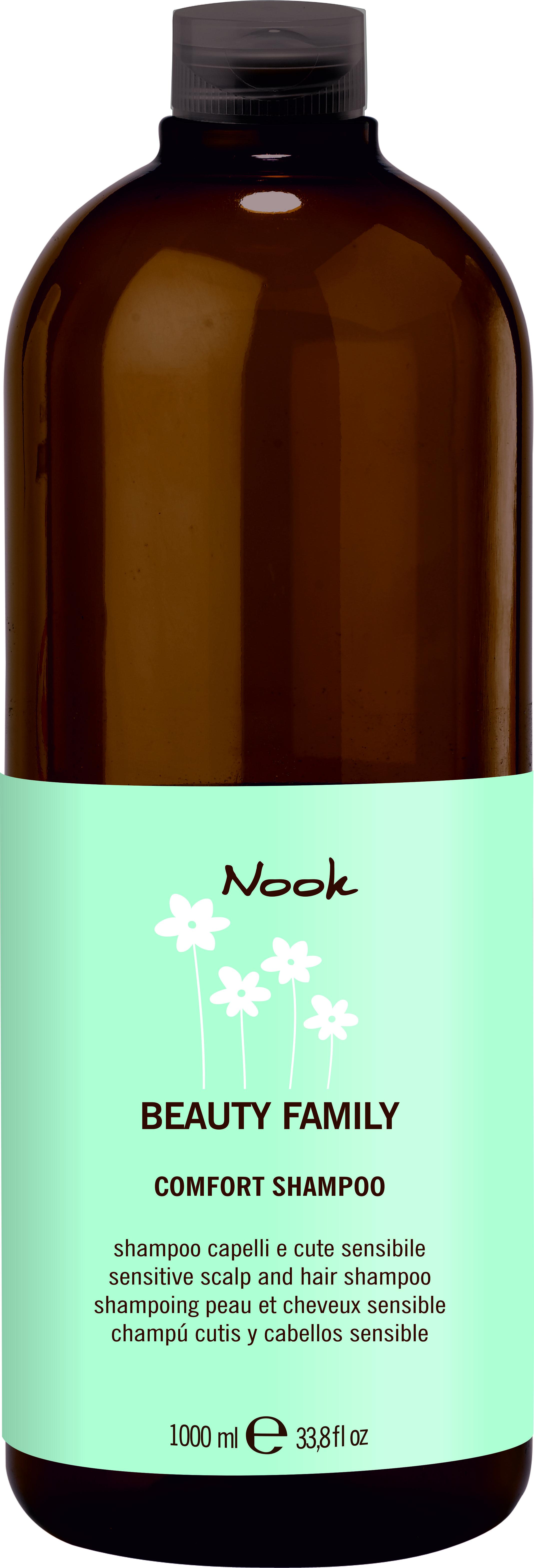 цена NOOK Шампунь для нормальных волос Ph 5,5 / Comfort Shampoo BEAUTY FAMILY 1000 мл