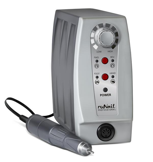 RuNail Дрель электрическая для маникюра и педикюра JL-5 35 000, 65Вт