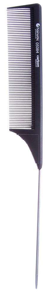 HAIRWAY Расческа Carbon Advance с металлическим хвостиком 225мм-