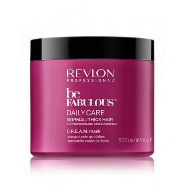 REVLON Professional Маска для нормальных и густых волос Ежедневный уход / RP BE FABULOUS 500 мл -  Маски
