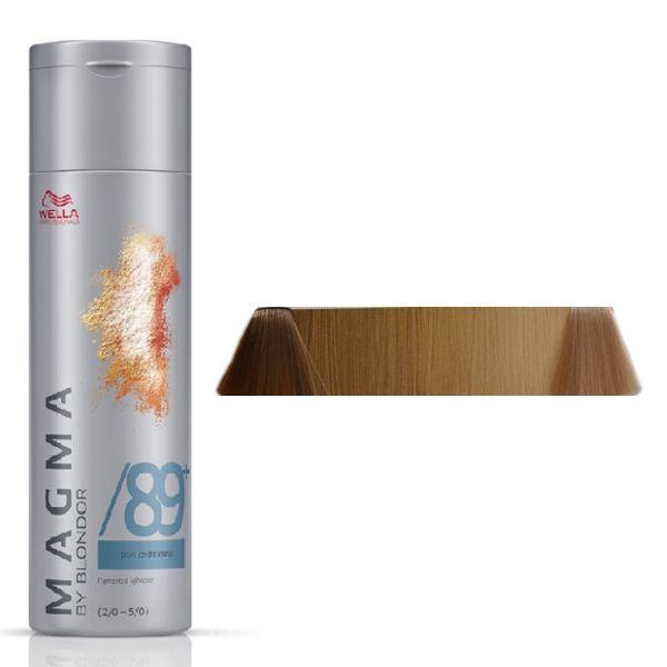 WELLA /89+ светло-жемчужный сандрэ, краска для цветного мелирования / Magma by Blondor, 120 мл