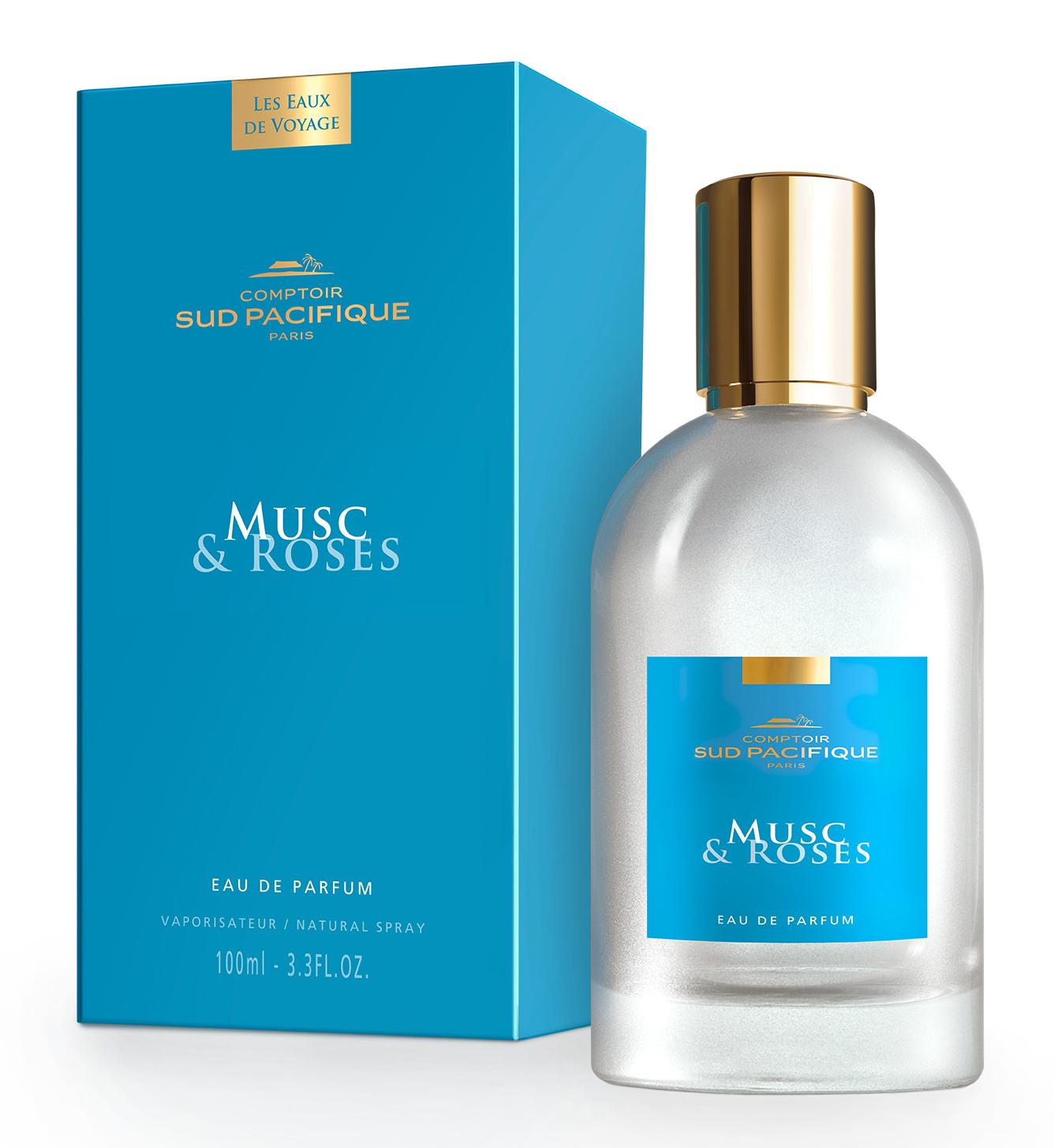 COMPTOIR SUD PACIFIQUE Вода парфюмированная Мускус и розы / LES EAUX DE VOYAGE 100 мл