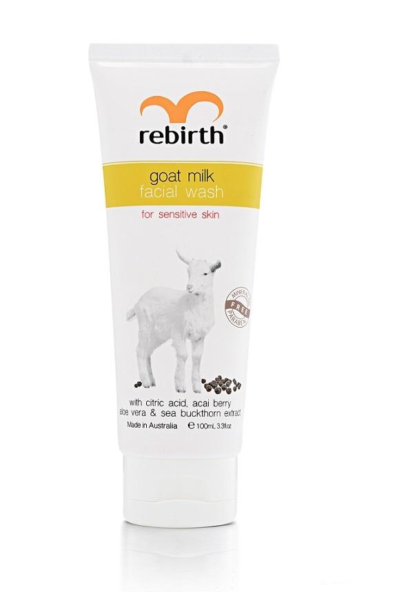 Купить REBIRTH Гель для умывания с экстрактом козьего молока / GOAT MILK FACIAL WASH 100 мл