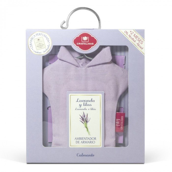 CRISTALINAS Саше ароматическое для белья Лаванда и лилия