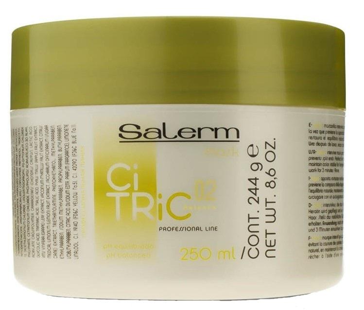 Купить SALERM COSMETICS Маска для окрашенных волос / CITRIC BALANCE 250 мл