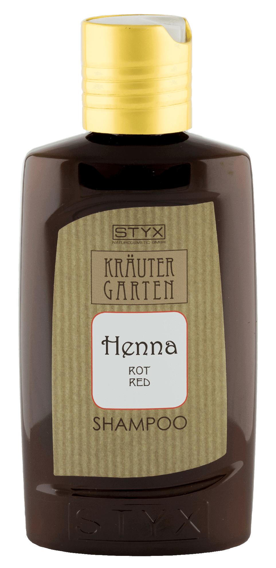 STYX NATURCOSMETIC Шампунь для волос Хенна, красный / KRAUTERGARTEN 200 мл фото
