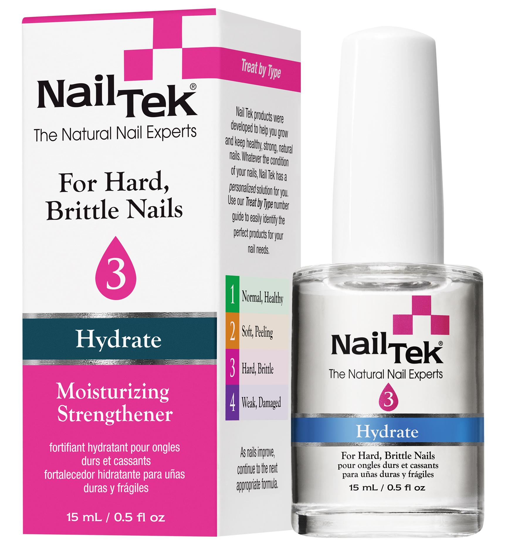 NAIL TEK Сыворотка увлажняющая для сухих, ломких ногтей / HYDRATE 3 15мл