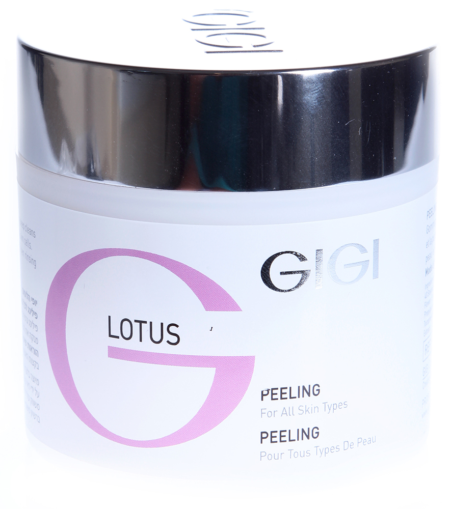 GIGI Пилинг-скраб для всех типов кожи/ Peeling Scrub LOTUS BEAUTY 250мл the yeon lotus roots 365 silky skin bubble peeling gel пилинг гель с экстрактом лотоса 100 мл