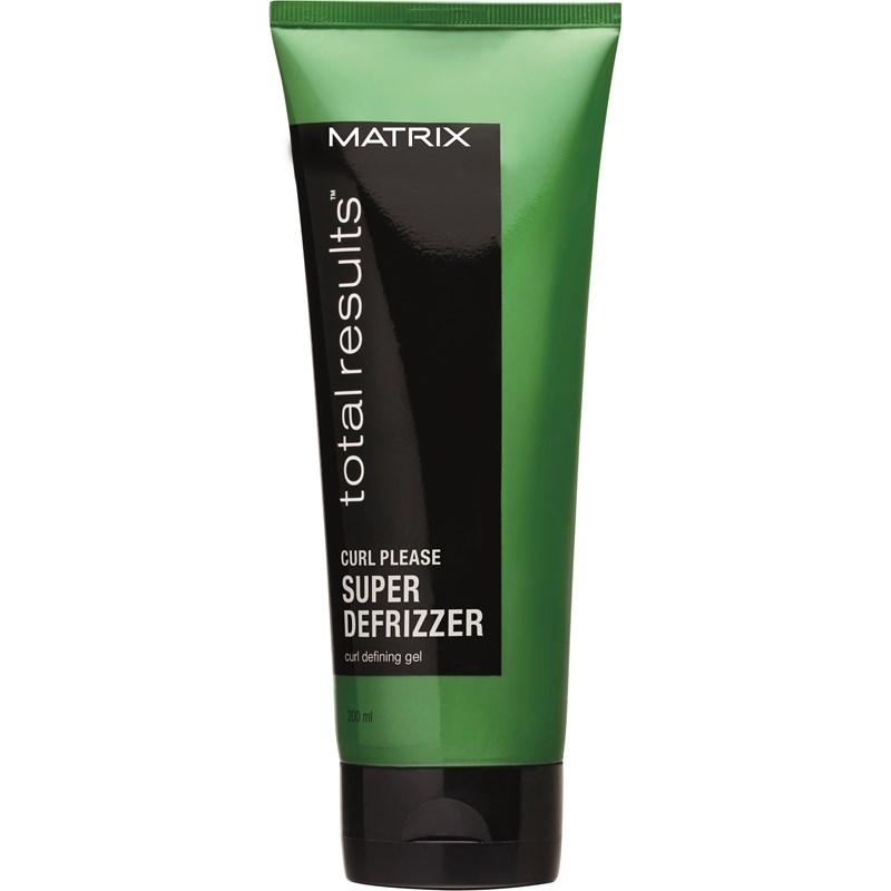 MATRIX Гель для вьющихся волос / Тотал Резалтс Кёрл Плиз гель 200 млГели<br>Гель помогает уложить волнистые и кудрявые волосы. Результат: контролирует завивку, дает естественный блеск, волосы не липкие после использования. Активные ингредиенты: протеины пшеницы. Способ применения: нанесите немного на руки и распределите на влажные волосы.<br><br>Объем: 200 мл<br>Типы волос: Кудрявые