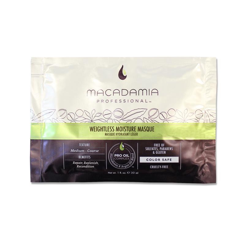MACADAMIA PROFESSIONAL Маска увлажняющая для тонких волос / Weightless Moisture 30 мл MACADAMIA Natural Oil