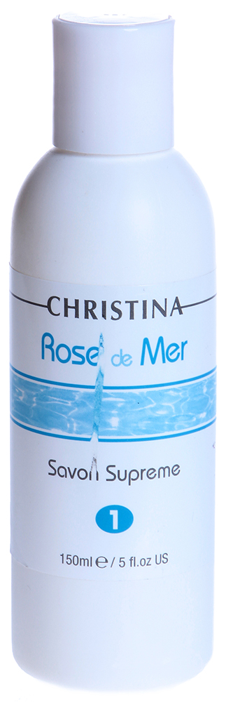 Купить CHRISTINA Мыло дезинфицирующее для пилинга (шаг 1) / Savon Supreme ROSE DE MER 120 мл