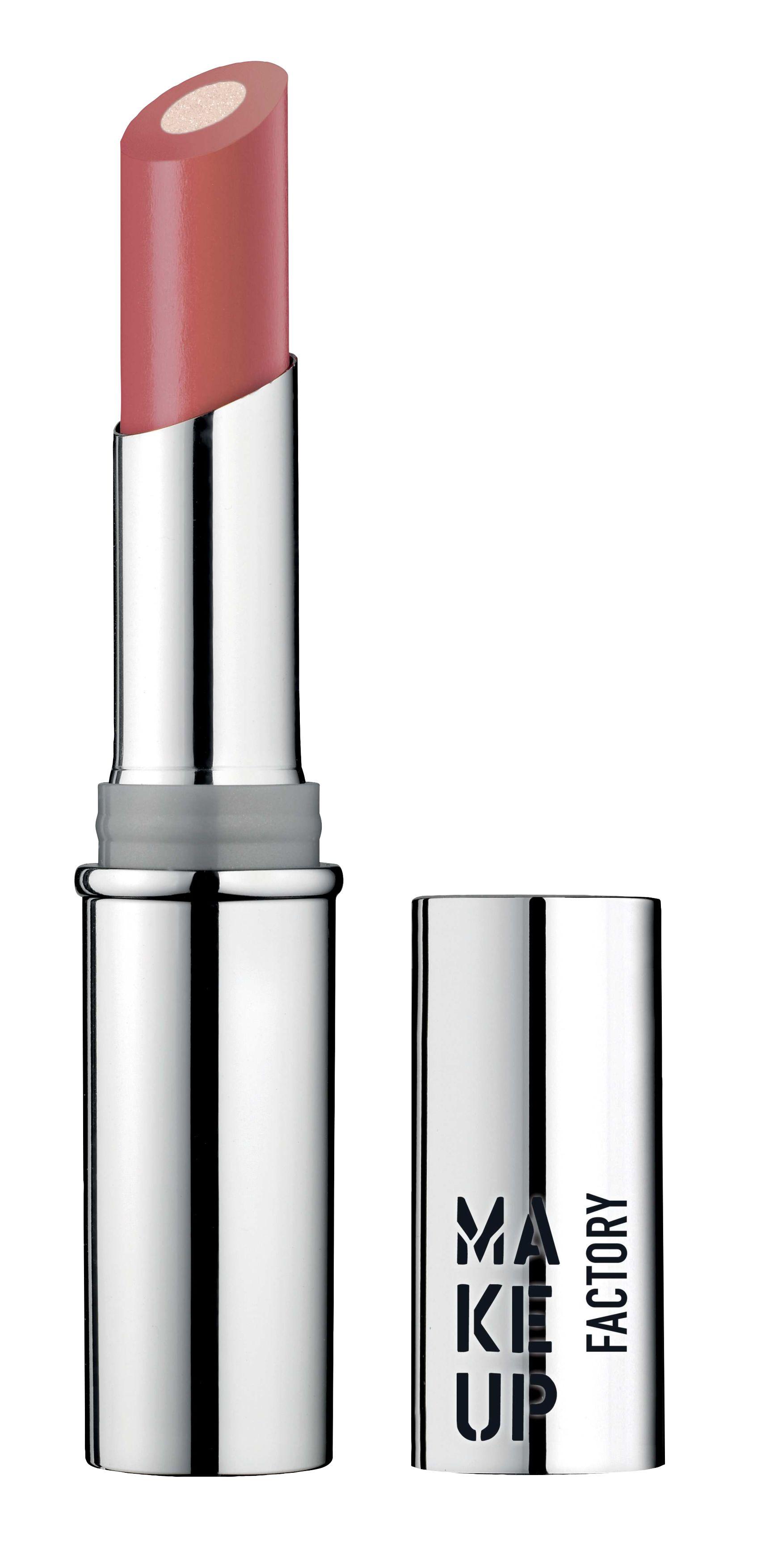 MAKE UP FACTORY Помада губная с мерцающим стержнем, 13 красная Сахара / Inner Glow Lip Color 3 г фото