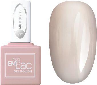 E.MI 249 гель-лак для ногтей / E.MiLac Milk Style 6 мл