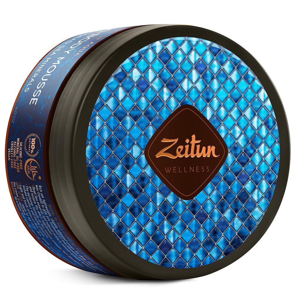 Купить ZEITUN Крем-мусс для тела Ритуал увлажнения / Aqua 200 мл