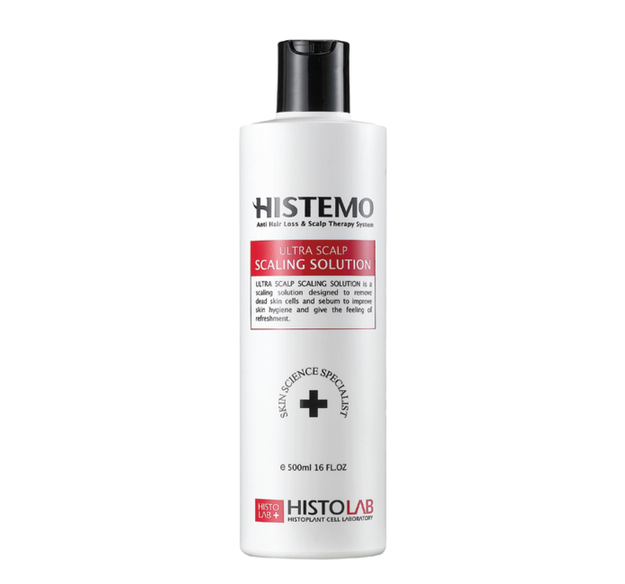 """HISTOLAB Лосьон очищающий для кожи головы """"Ультра"""" / Ultra Scalp Scaling Solution 500мл"""