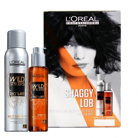 "LOREAL PROFESSIONNEL ����� ��������� Fashion Kits �t Tecni.Art ""�����""/Next Day Hair 250��+ Scruff Me 150��"