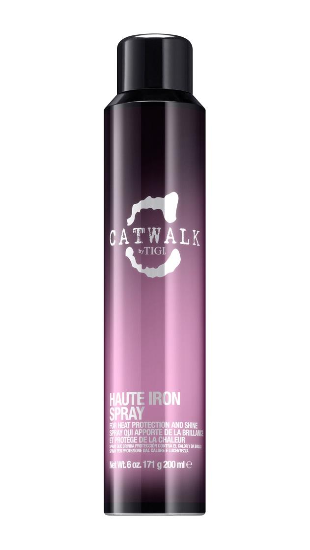 TIGI Спрей термозащитный выпрямляющий / CATWALK Haute Irone Spray 200 мл -  Спреи