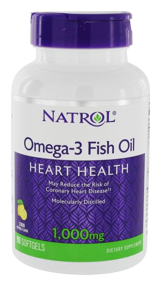 Купить NATROL Добавка биологически активная к пище Натрол омега-3 фиш оил / Omega-3 Fish Oil 1000 мг 90 капсул