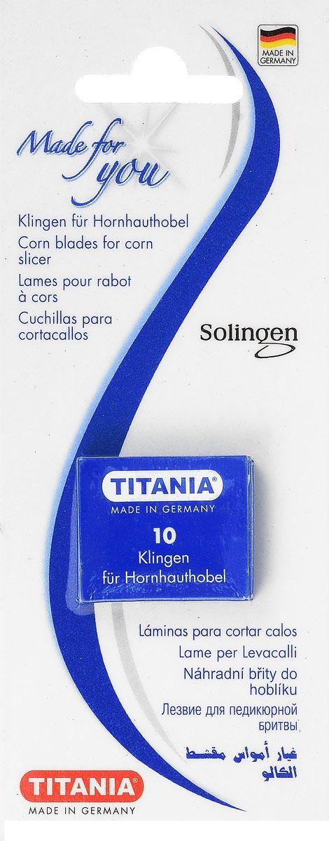 Купить TITANIA Лезвия для скребка 3100/1 на карте, 10 шт/уп