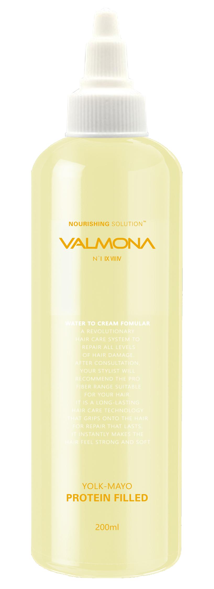 Купить EVAS Маска для волос Питание / VALMONA Yolk-Mayo Protein Filled 200 мл