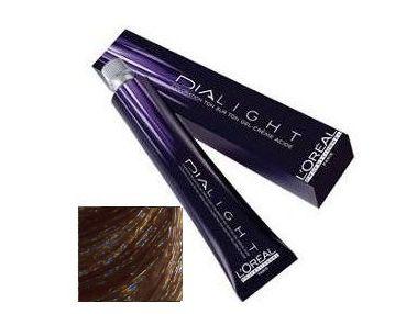 LOREAL PROFESSIONNEL 7.13 краска для волос / ДИАЛАЙТ 50млКраски<br>7.13 медовый натуральный. Эта линия без аммиака, разработана для покрытия до 70% седых волос, к тому же 70% покрытия на основе оттенков с более богатыми красками оттенков, глубоко отражающих палитру и превосходную мягкость волос. Идеальна для волос: чувствительных, окрашенных, с завивкой, с выпрямлением, с мелированием. Не осветляет. Стойкие, светящиеся оттенки. Исключительно равномерный цвет. Виниловый блеск. Восстанавливающий эффект на волокне волоса. На чувствительных волосках чешуйки кутикулы уже открыты. У краски кислый pH, близкий к pH натурального волоса, и он очень мягко работает. Легкое разбухание волоса в кислой среде. Мягкое проявление пигментов в идеальном сочетании с существующими пигментами в волосе. Катионный полимер Диалайт оказывает восстанавливающее воздействие на волосы, придает виниловый блеск. Способ применения: использовать специальные одноразовые перчатки. Использовать только со специальными диапроявителями 1,8 %, 2,7 %, 4.5 %. Строго соблюдать указанные пропорции. Смешайте 50 мл (1 тюбик) крем-краски с 75 мл диапроявителя 1,8 %, 2,7 % или 4.5 % в зависимости от желаемой интенсивности результата и необходимого покрытия. Количество использованных продуктов могут быть уменьшены при сохранении рекомендованных пропорций 1 + 1.5. Первичное окрашивание: нанести смесь на сухие, невымытые волосы при помощи аппликатора или кисточки на корни, длину и концы. Время выдержки   20 минут. По истечении времени выдержки тщательно эмульгируйте, промойте волосы водой.<br><br>Объем: 50 мл<br>Вид средства для волос: Восстанавливающий