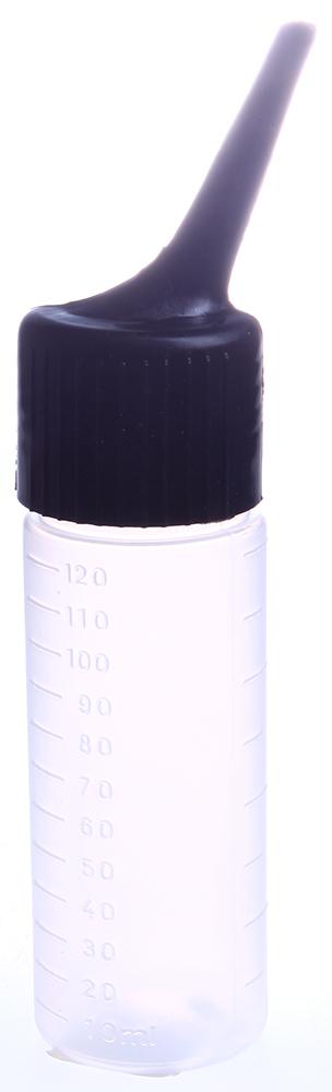 SIBEL Сосуд дозир. с накл. нос. 120млОсобые аксессуары<br>Мерная емкость-аппликатор для химической завивки.<br>