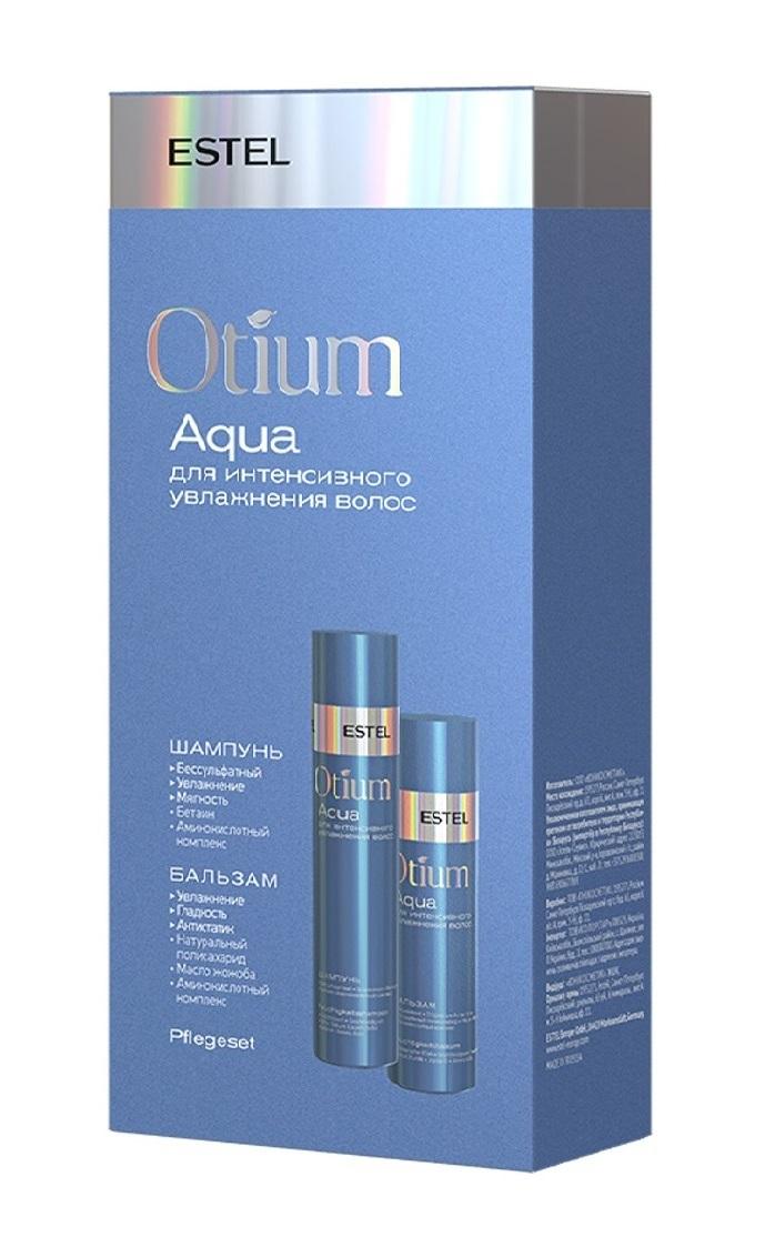 Купить ESTEL PROFESSIONAL Набор для интенсивного увлажнения волос (шампунь 250 мл, бальзам 200 мл) OTIUM AQUA