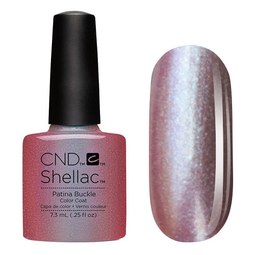 CND 91255 покрытие гелевое Patina Buckle / SHELLAC 7,3мл