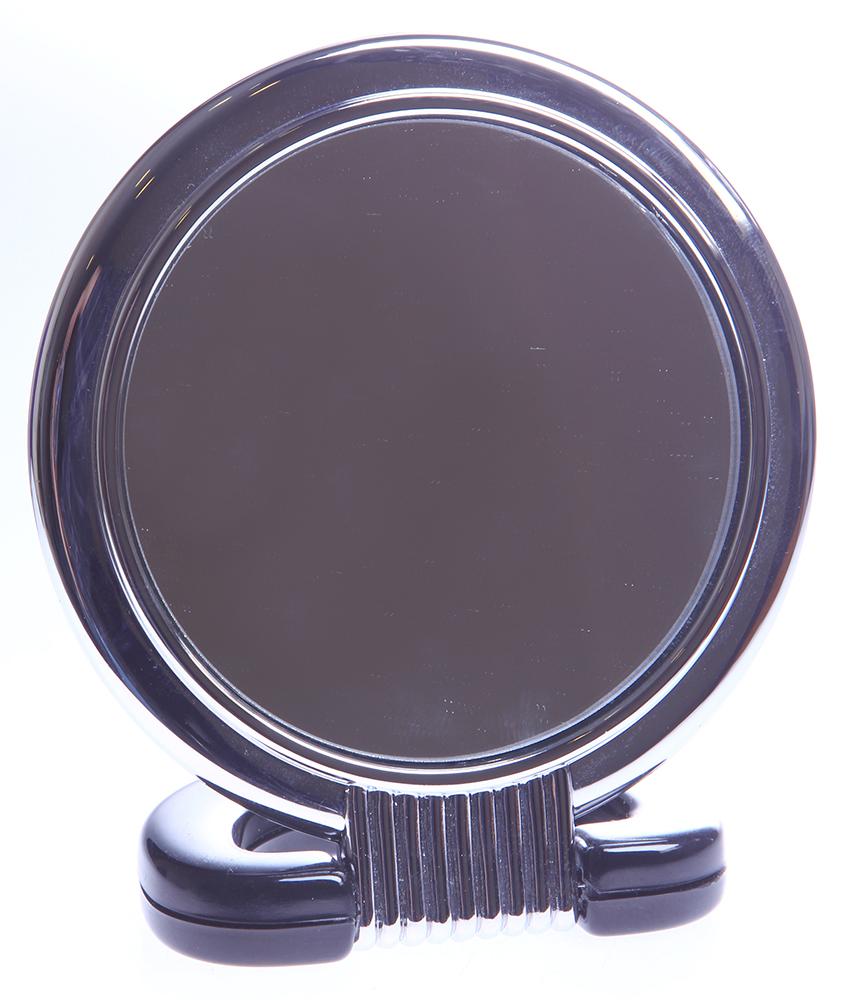 SIBEL Зеркало наст.9см кругл.серебре~