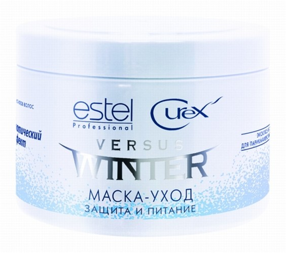 ESTEL PROFESSIONAL Маска-уход для волос Защита и питание / Curex Versus Winter 500 мл