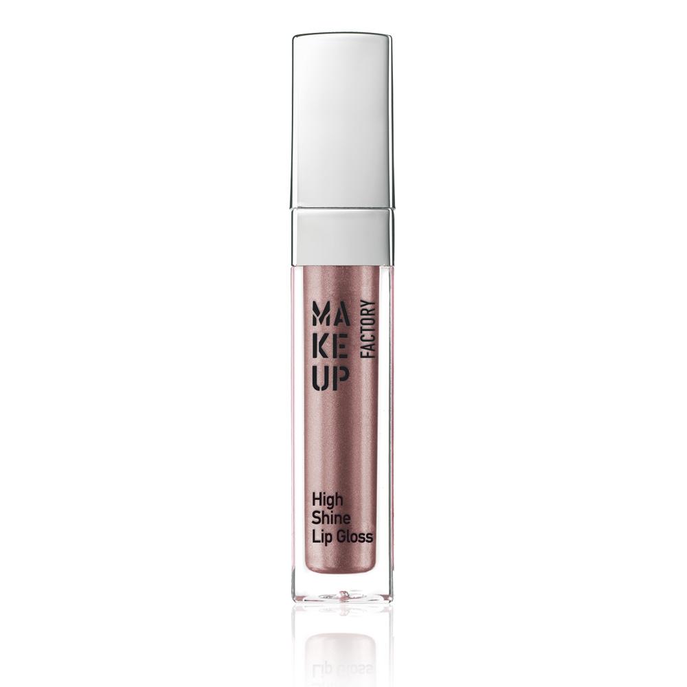 MAKE UP FACTORY Блеск с эффектом влажных губ, 49 драгоценная роза / High Shine Lip Gloss 6,5 мл