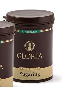 GLORIA Паста для шугаринга Gloria ультра мягкая с ментолом 0,8 кг