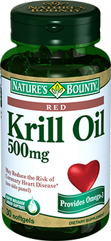 NATURE'S BOUNTY Масло криля, капсулы 500 мг № 30