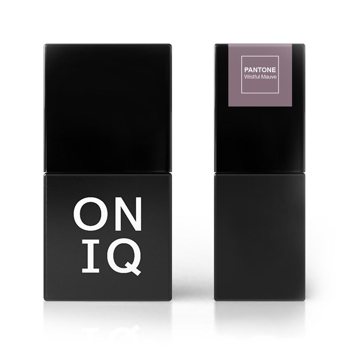 ONIQ Гель-лак для покрытия ногтей, Pantone: Wistful Mauve, 10 мл