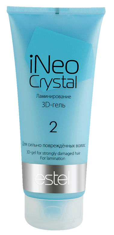 Купить ESTEL PROFESSIONAL Гель-3D для сильно поврежденных волос / iNEO-CRYSTAL 200 мл