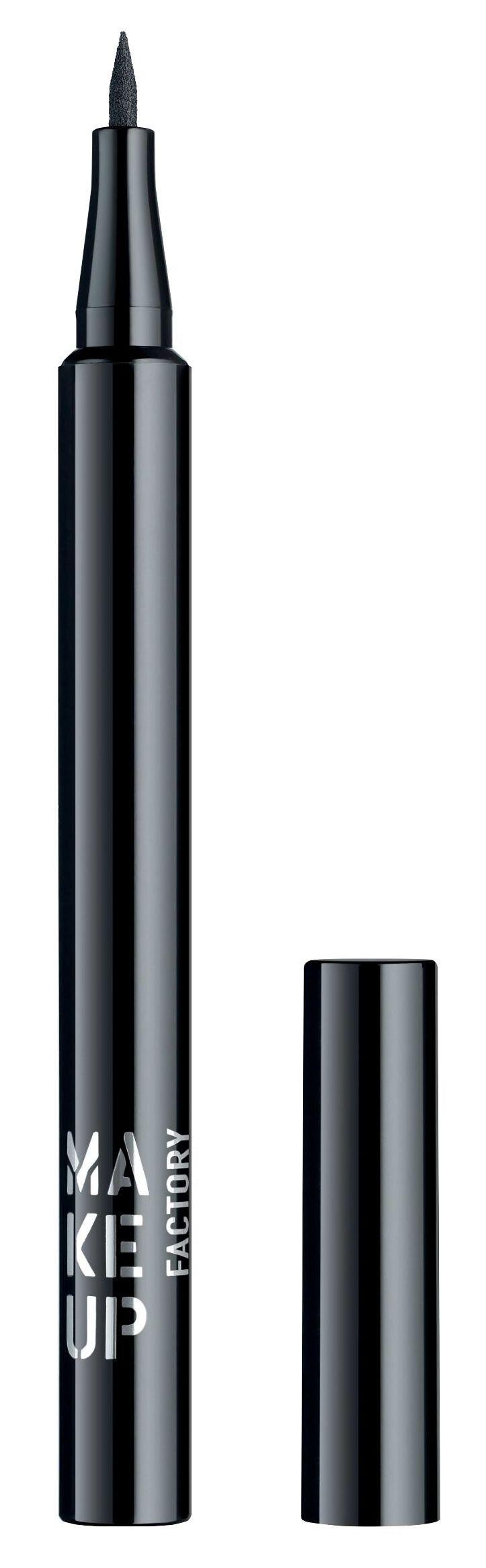 Купить MAKE UP FACTORY Подводка жидкая для глаз, 01 черный / Full Control Liquid Liner 1 мл