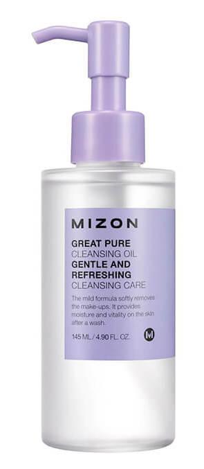 Купить MIZON Масло гидрофильное увлажняющее для лица / Great pure cleansing oil 145 мл