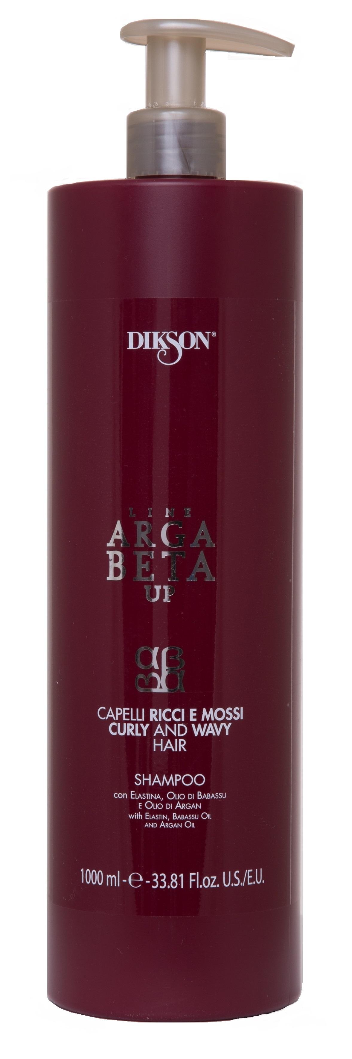 Купить DIKSON Шампунь для вьющихся волос / ARGABETA UP Shampoo for dyed andtreated hair 1000 мл