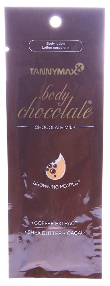 TANNYMAXX Молочко без бронзатора для загара / Milk BODY CHOCOLATE 15мл