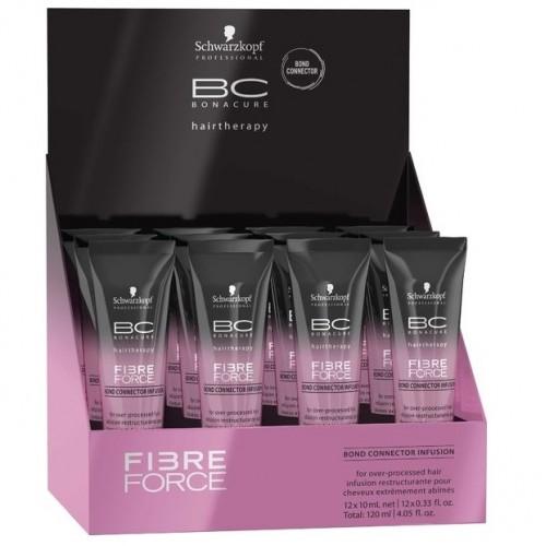 SCHWARZKOPF PROFESSIONAL Сыворотка-концентрат / BC Fibre Forc 12x10мл шампунь schwarzkopf professional fibre force shampoo
