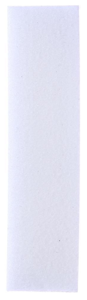 SOLOMEYA Блок-шлифовщик для ногтей белый / White Sanding BlockПилки для ногтей<br>Блок-шлифовщик Solomeya изготовлен из полиэтиленовой пены. Прекрасно сглаживает поверхность ногтей. Рекомендуется для профессионального и домашнего использования при работе с искусственными ногтями, а так же для обработки ногтей с тканевыми покрытиями. Отличается высоким качеством и сохраняет свои свойства в течение длительного времени. Не повреждает кутикулу, удобен в применении.  Способ применения: Использовать для обработки ногтевой пластины, придания ей гладкости и лоска.<br>