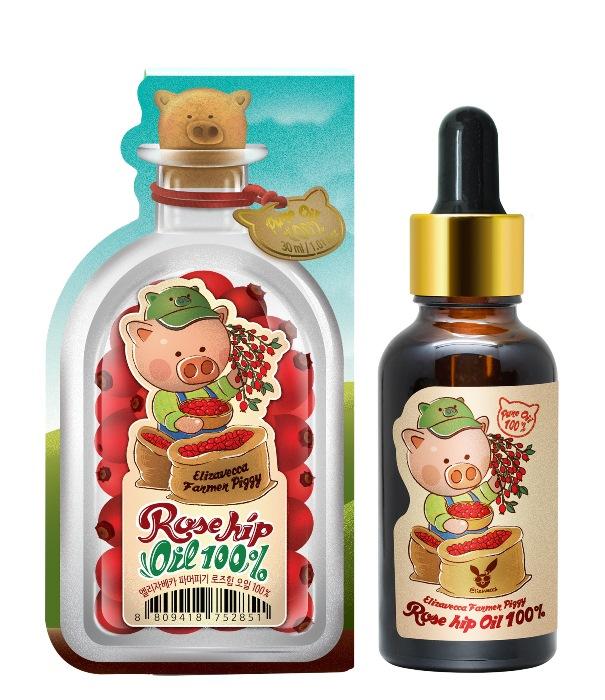 Купить ELIZAVECCA Масло шиповника для кожи / Farmer Piggy Rose hip Oil 100% 30 мл