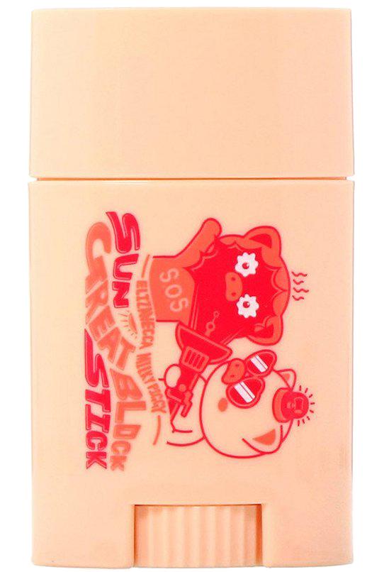 Купить ELIZAVECCA Стик солнцезащитный для кожи SPF 50+ PA+++ / Milky Piggy Sun Great Block Stick 22 г