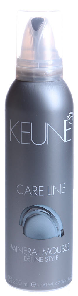 KEUNE Мусс укладочный с природными минералами Кэе Лайн / CL MINERAL MOUSE 200млМуссы<br>Если вы желаете уложить волосы в сложную прическу, которая будет держаться весь долгий день, то укладочный Мусс CARE LINE MOUSSE от специалистов компании Keune справится с этой задачей, как нельзя лучше. Благодаря включенным в состав природным минералам, волосы не повреждаются и приобретают натуральный блеск. Провитамин В5 помогает волосам стать послушнее, чтобы процесс укладки не вызывал затруднений. Мультифруктовый комплекс защищает волосы от внешних негативных воздействий и горячего воздуха. УФ-фильтр отражает солнечный свет и препятствует повреждению волос. Любая прическа теперь будет держаться сколько угодно долго, а волосы ничуть не пострадают.  Активный состав: Провитамин В5, мультифруктовый комплекс, УФ-фильтры. Применение: Перед использованием хорошо встряхните, затем выдавите немного укладочного Мусса CARE LINE MOUSSE. Нанесите на подсушенные полотенцем волосы и не смывайте. Придайте прядям желаемую форму.<br><br>Объем: 200