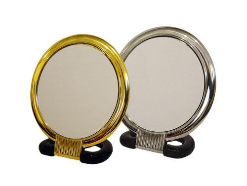 SIBEL Зеркало наст.15см кругл.серебре~