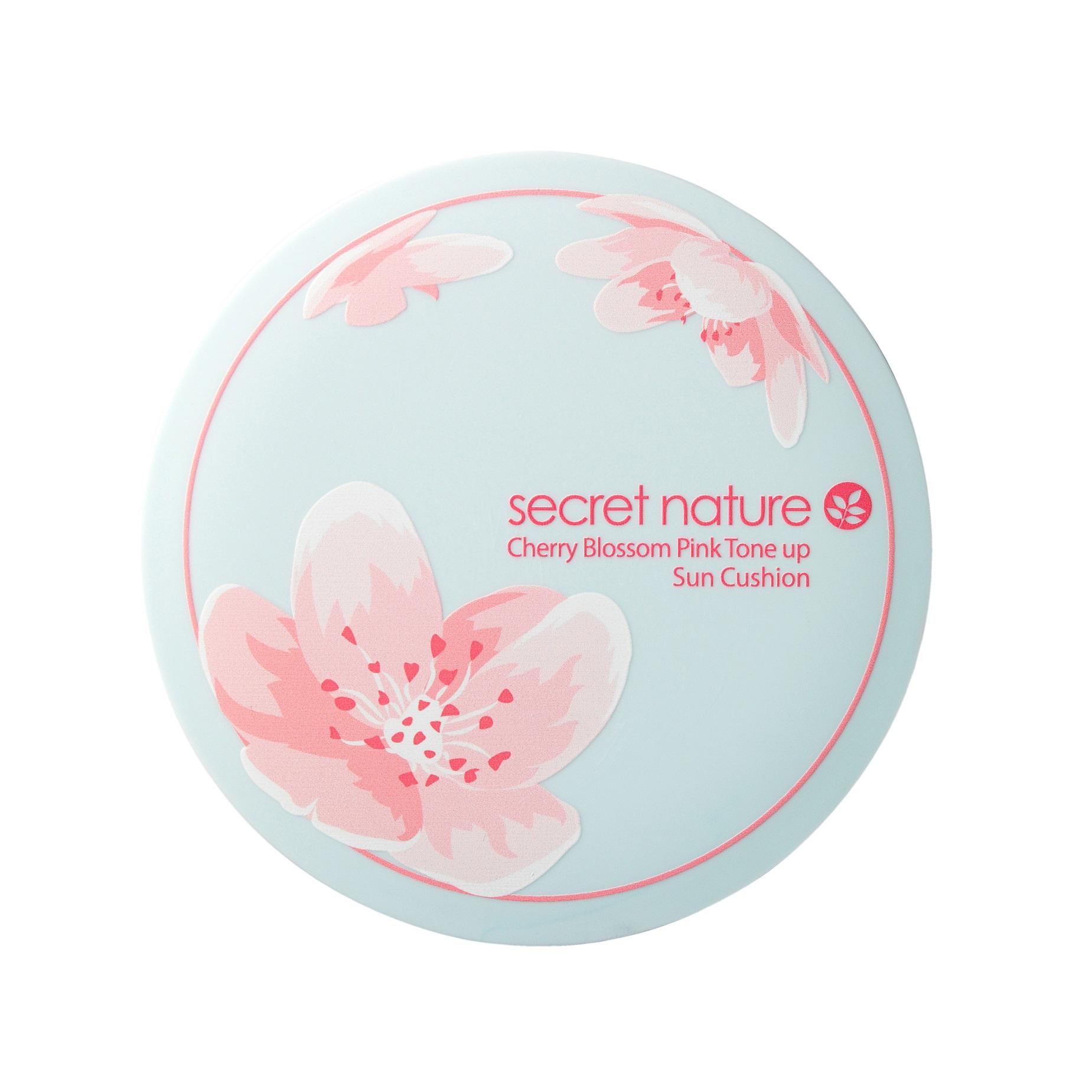 SECRET NATURE Основа-кушон тональная с экстрактом цветка вишни SPF50+/PA+++ 20 г